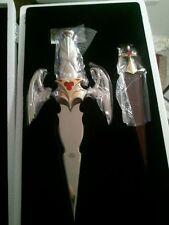 Franklin Mint Daggar Legend of Vampire's Curse Art Knife by Brom Mib New B11A261