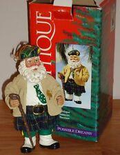 Possible Dreams Irish Santa SANTA'S SHILLELAGH Clothtique Ornament w/Box Figure