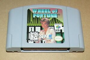Wheel of Fortune for Nintendo 64 Fast Shipping! Authentic