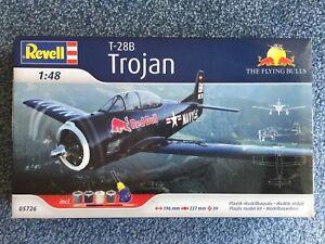 Revell T-28B Trojan Red Bulls 1/48 model kit #05726 - Sealed