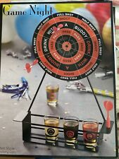 Drinking Game Night With Darts & Shot Glasses