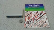 TI-99 4A computer cartridge & manual, Milliken Math Sequences Laws of Arithmetic