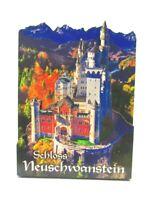Schloss Neuschwanstein Holz 2D Magnet 10 cm Füssen Souvenir Germany