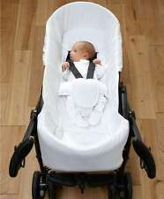 GENUINE Mamas and Papas PLIKO SWITCH NEWBORN CARRYCOT PRAM LINER rrp £48.00 NEW