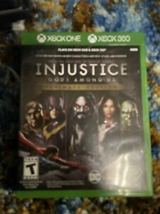 Injustice: Gods Among Us Ultimate Edition Xbox 360/Xbox One Game Batman/Joker Dc