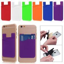 3M Smart Silicone Phone Back Wallet Card Stick On Cash Credit Opal Card Holder