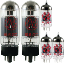 Tube Set - for Fender Blues DeVille JJ Electronics APEX Matched Power Tubes