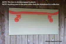 Pottery Barn Teen Magnetic Glass Wall Organizer (Skateboard) -Nib- A Sick Pick!