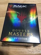 MTG MAGIC THE GATHERING DOUBLE MASTERS VIP EDITION BOOSTER BOX PACK Sealed New