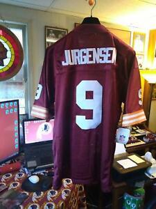 Washington Redskins NEW Sonny Jurgensen Embroidered Jersey, Size XL (42)