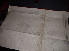 Vintage Admiralty Chart 262B GUERNSEY, HERM & SARK - MIDDLE SHEET