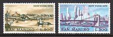 San Marino - 1973 Cities: New York Mi. 1025-26 MNH