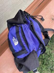 The North Face waist bag Lumbar Fanny Pack Mountain Biker Black