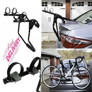 2 Bicycle Bike Rack Trunk Rack Hitch Mount Carrier Car Sedans, Hatchbacks, Vans