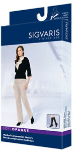 Sigvaris 841C Soft Opaque 15-20 Knee High Compression Hosiery Nude Size SL