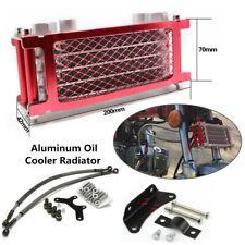 Aluminum Engine Oil Cooler Radiator For 50 70 90 110CC Dirt Pit Bike Motorcycle