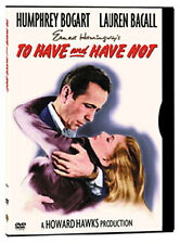 To Have and Have Not (1944) Howard Hawks, Humphrey Bogart / DVD, NEW