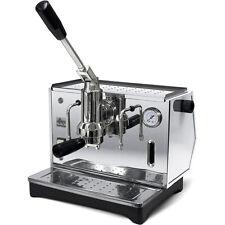 Ponte Vecchio LUSSO Chrome Lever Espresso Cappuccino Coffee Machine 220V