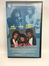 HEARTS OF FIRE (1987) VHS - BOB DYLAN