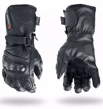 Thermal Waterproof Motorbike Motorcycle Gloves Carbon Knuckle Protection L
