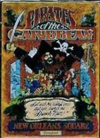 Disney Pin 53316 WDI New Orleans Square Pirates of the Caribbean Poster Cast LE
