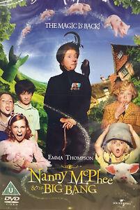 Nanny McPhee And The Big Bang (DVD, 2010)