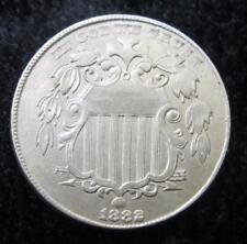 1882 Shield Nickel * Better Grade * ERROR COIN * Full Shield Lines * Nice!