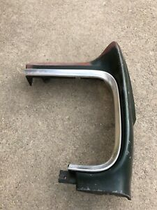 1965 Ford Fairlane Front Fender Extension With Trim Moulding. Driver Side.