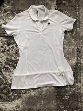 Adidas Women Tennis / Golf Polo Shirt Size L