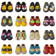 Yalion Krabbelschuhe Lauflernschuhe Leder Pantoffeln Kinderschuhe Turnen