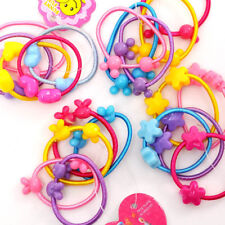 20Pcs Girls Fashion Animal Hair Bands Elastic Rope Ponytail Tie Hairband Bobbles