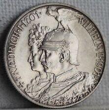 Polierte Platte 2 Mark Silbermünzen aus dem deutschen Kaiserreich