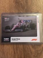 Topps Now F1 Formula One Trading Card 10 Sergio Perez Incredible Recovery Ex-NM