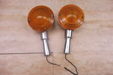 1970's Yamaha RD250 350 400 Front Turn Signals #AU40 *For Parts* PL151+