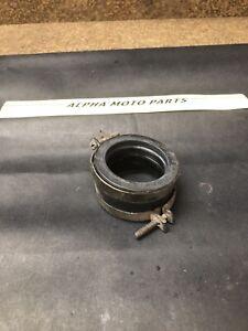 84 85 Suzuki RM125 Intake Boot Manifold Carb Insulator Mount F108 Rm125f