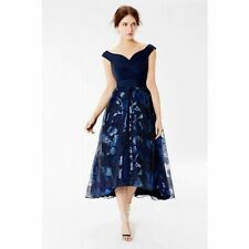 BNWT Coast Zahara Roccabella  Hi Lo hem Occasion  Dress  size 8 RRP £195