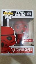 Funko Pop! Star Wars Target Redcard Exclusive Red Stormtrooper #05
