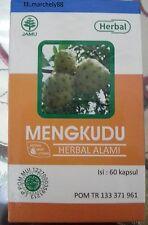 Traditional Herbal Noni Fruit Powder Capsules (Morinda Citrifolia) 500mg(60caps)