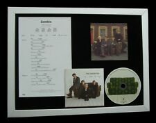 CRANBERRIES+DOLORES Zombie GALLERY QUALITY CD FRAMED DISPLAY+EXPRESS GLOBAL SHIP