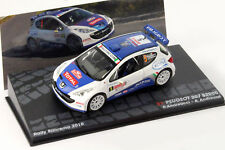 Citroen DS3 R5 2015 Plain Rally Wheels 1/43 Ixo Mdcs018