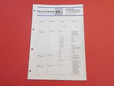 Telefunken HC 1500,HC 450 Kassettendeck org. Service Anleitung Manual