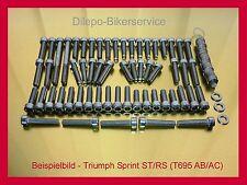 Triumph Sprint ST/RS 955i 01-04 Edelstahl Motorschrauben Schrauben Schraubensatz