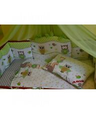 Baby Bedding Set, Green, 8 pieces, Canopy, Vanity Pocket