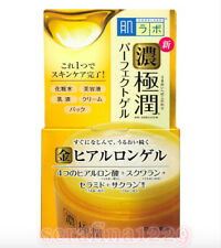Japan ROHTO HADALABO Gokujun Super Hyaluronic Acid Perfect Gel Cream~w/Gift~F/S