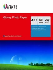 A3 Plus 60 Sheet A3+ 260Gsm High Glossy Photo Paper Inkjet Paper Printer 13x19