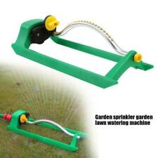 Lawn Sprinkler Oscillating Watering Garden Pipe Hose Water Flow With Connectors