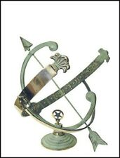 Rome Industries 1336 Brass Armillary Sundial
