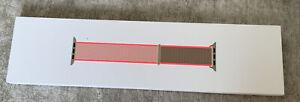 Genuine Apple Watch Nylon Sport Loop Strap Band 38mm / 40mm - Neon Pink