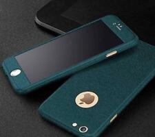 360 full body Matte Finish Dual Layer Hard Case for funda iPhone 7 6 6S 5 5S SE