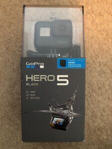 NEW in box, never opened, GoPro Hero 5 Black w/ REMO